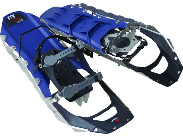 MSR Revo Trail 22 - Raquetas de nieve de aluminio Hombre - gris/azul